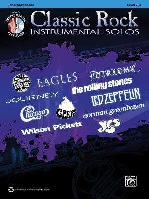 Classic Rock Instrumental Solos By Alfred Publishing Staff (COR)